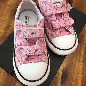 Hello Kitty Converse Toddler Girl Tennis Shoes